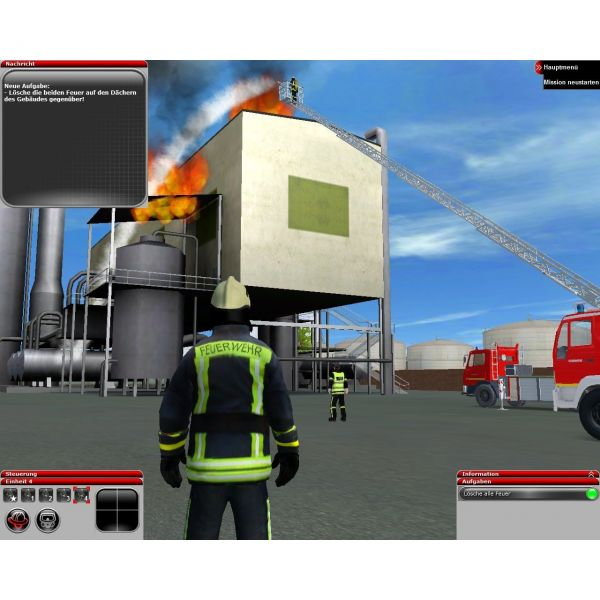 Feuerwehr-Simulator 2010 Screenshots - Gamedemos.de